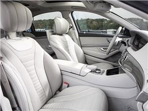 Mercedes-Benz S 500 LONG 2013 передние кресла