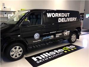 Предпросмотр volkswagen transporter workout delivery 2013 вид сбоку