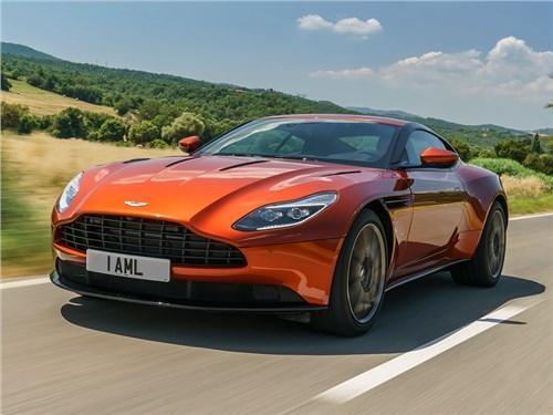 Новость про Aston Martin - Aston Martin показал новый DB11 для российского рынка