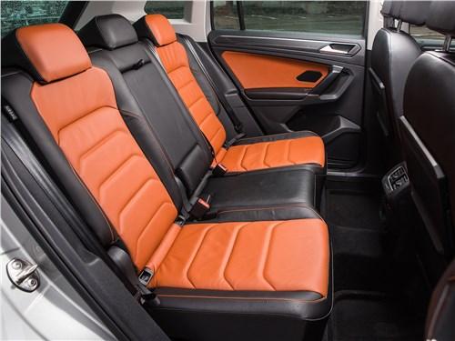 Volkswagen Tiguan 2017 задний диван