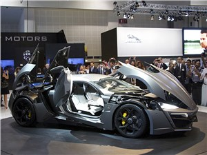 Предпросмотр w motors lykan hypersport 2013
