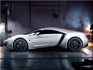 Предпросмотр w motors lykan hypersport 2013 вид сбоку