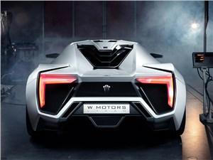 Предпросмотр w motors lykan hypersport 2013 вид сзади