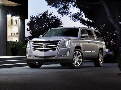 Российские продажи Cadillac в I-ом полугодии выросли на 35 процентов