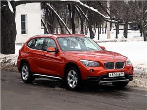 BMW X1 - bmw x1 2012 вид спереди