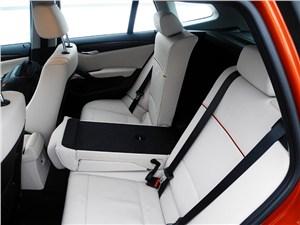 BMW X1 2012 задний диван