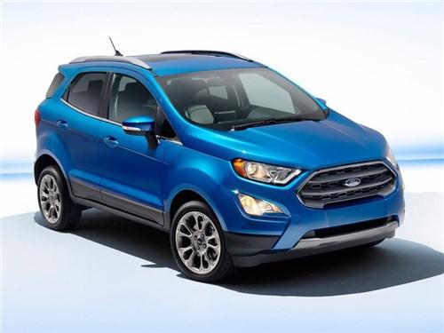 Новость про Ford EcoSport - Ford показал в Лос-Анджелесе EcoSport для американского рынка