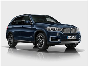 BMW X5 Security Plus concept 2013 вид спереди