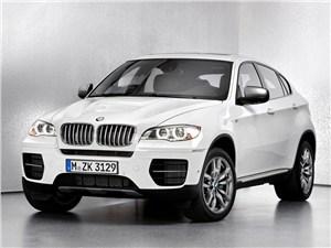 Новость про BMW X6 M - BMW X6 M50d 2013 вид спереди