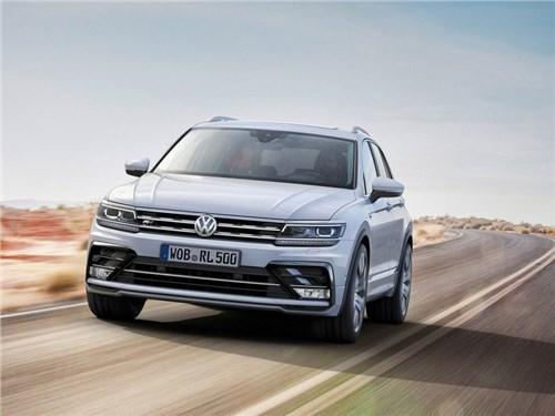 Volkswagen назвал предварительные цены нового Tiguan