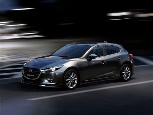 Новость про Mazda 3 - Японцы рассекретили обновленную версию Mazda 3