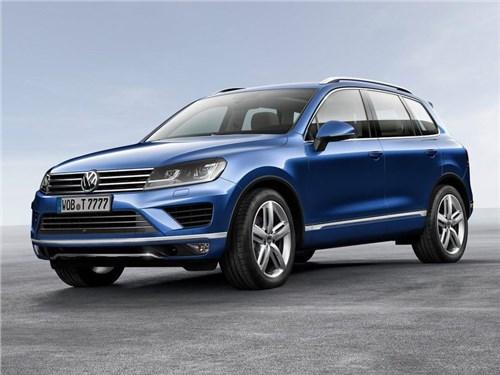 Volkswagen проводит масштабный отзыв кроссоверов Touareg