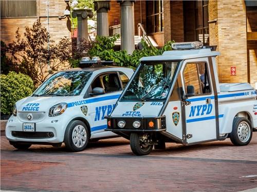 Полиция Нью-Йорка приобрела сотню компакт-каров Smart