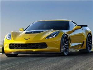 Новый Chevrolet Corvette - Chevrolet Corvette Z06 2015 вид спереди