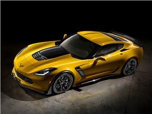 Предпросмотр chevrolet corvette z06 2015 вид сбоку сверху
