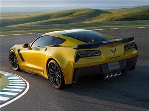 Предпросмотр chevrolet corvette z06 2015 вид сзади