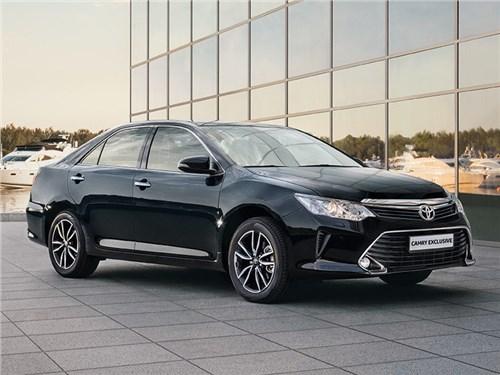 Новость про Toyota Camry - Toyota представила специальную комплектацию Camry для российского рынка