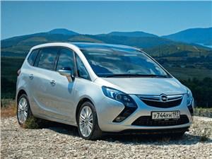 Opel Zafira - opel zafira tourer 2012 вид спереди