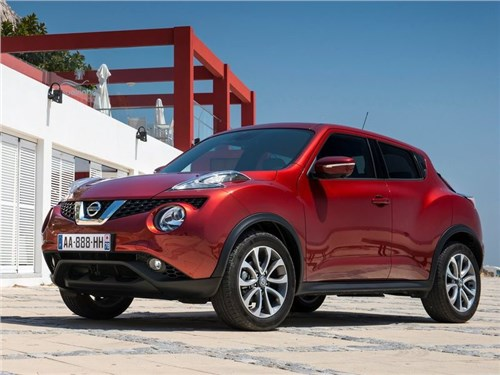 Новость про Nissan Juke - Новый Nissan Juke получит гибридный двигатель