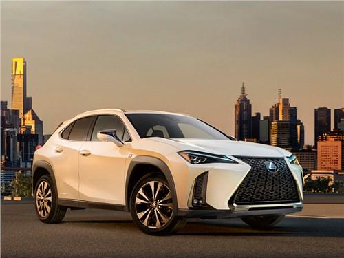 Новый кроссовер Lexus: первое фото