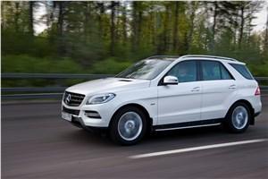 Предпросмотр mercedes-benz ml 500 2012 фото в динамике 5