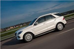 Предпросмотр mercedes-benz ml 500 2012 фото в динамике 12