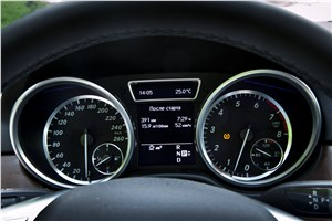Предпросмотр комбинация приборов mercedes-benz ml 500 2012