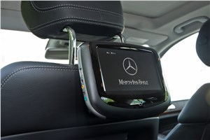 Предпросмотр на mercedes-benz ml 500 2012 могут устанавливаться dvd-мониторы для задних пассажиров