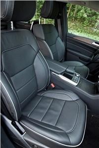 Предпросмотр mercedes-benz m-класс 2012 передние кресла