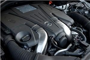 Предпросмотр v-образный 8-цилиндровый двигатель mercedes-benz ml 500 2012