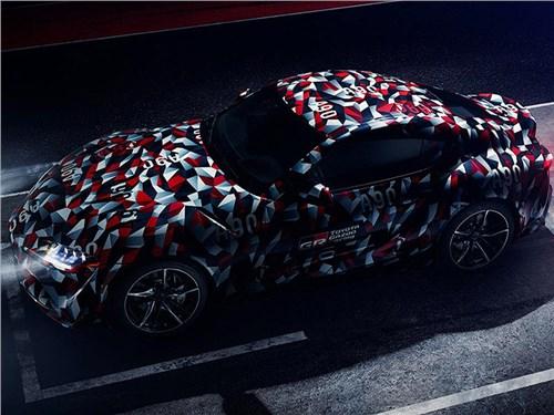Названа дата премьеры Toyota Supra