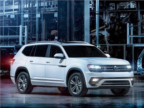 Новость про Volkswagen - Volkswagen привез в Детройт «заряженный» Atlas