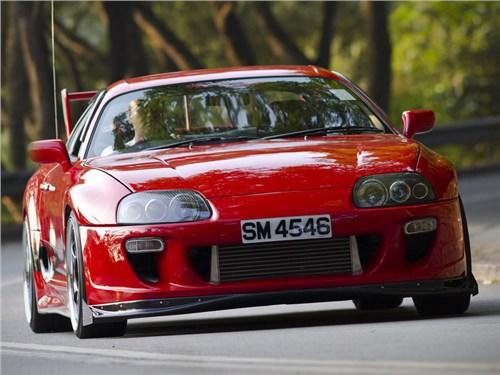 Новость про Toyota - Toyota планирует создать гибридную модификацию спорткара Supra