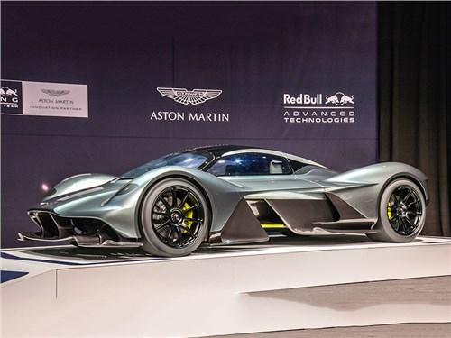 Известна мощность гиперкара Aston Martin Valkyrie