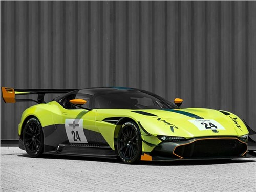 Aston Martin представил аэропакет для суперкара Vulcan