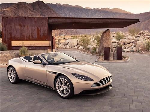 Новость про Aston Martin DB11 - Aston Martin DB11 Volante