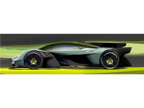 Aston Martin рассказал о самой экстремальной версии гиперкара Valkyrie