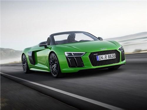 Новость про Audi R8 - Audi R8 Spyder Plus