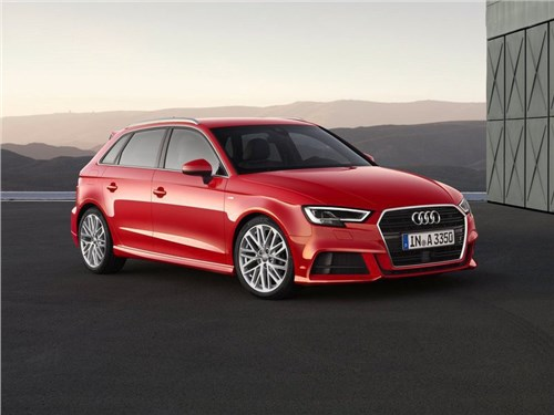 Audi выведет на российский рынок новый A3 уже в июне