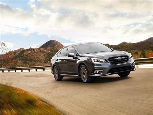 Subaru возвращает в Россию большой седан