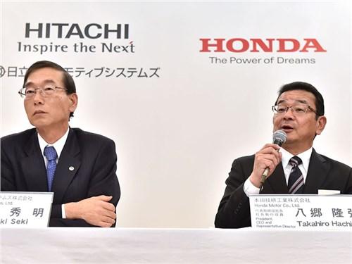 Honda будет делать электромобили вместе с Hitachi