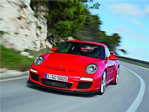 Новость про Porsche 911 GT3 - Porsche оставила сообщение для Acura под капотом «911-ого»