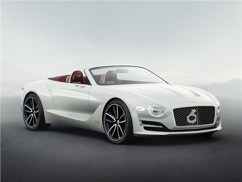 Bentley сделает электрический спорткар вместо кроссовера