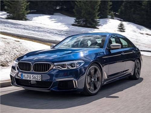 BMW останавливает производство мощных «пятерок»