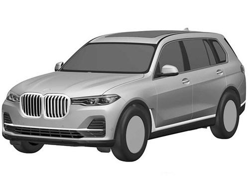Рассекречен облик BMW X7