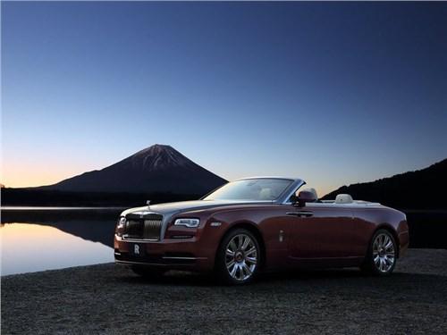 Новость про Rolls-Royce Dawn - Rolls-Royce вывел на российский рынок кабриолет Dawn