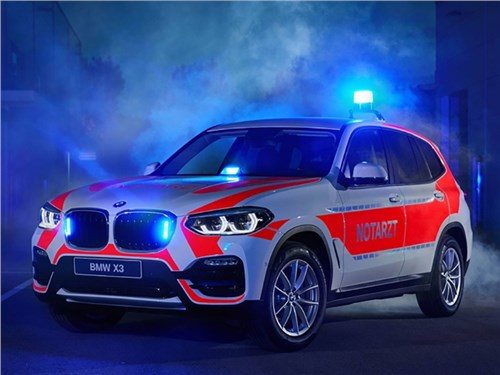 BMW X3 и MINI «надели» форму экстренных служб