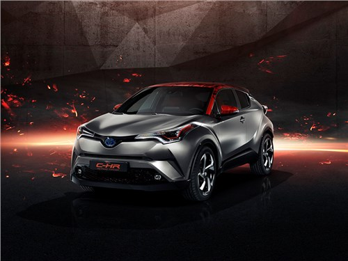 Новость про Toyota - Toyota C-HR Hy-Power