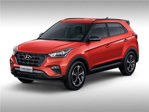 «Спортивная» Hyundai Creta получила телевизор