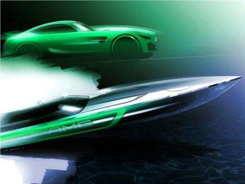 Новость про Mercedes-Benz - Mercedes-Benz построит собственный катер